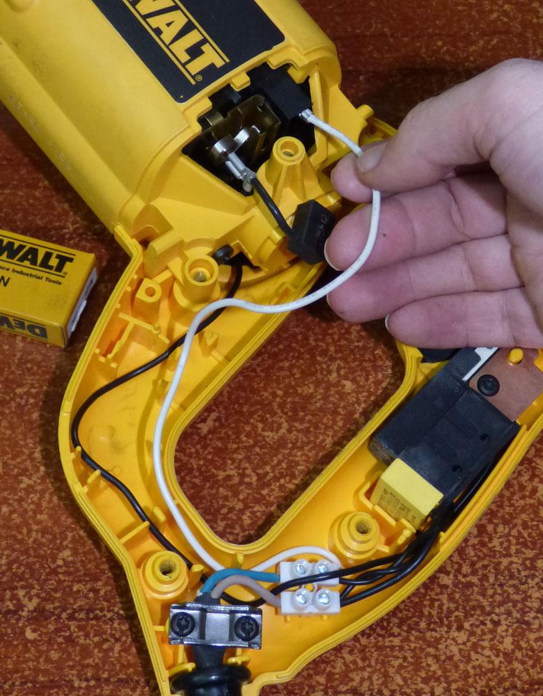 Reparación máquina Dewalt